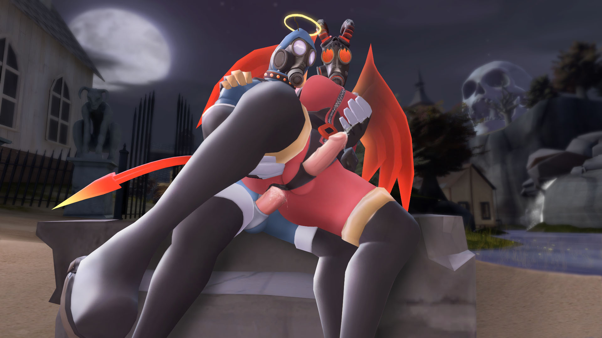 The overwatch fem pyro sex gif