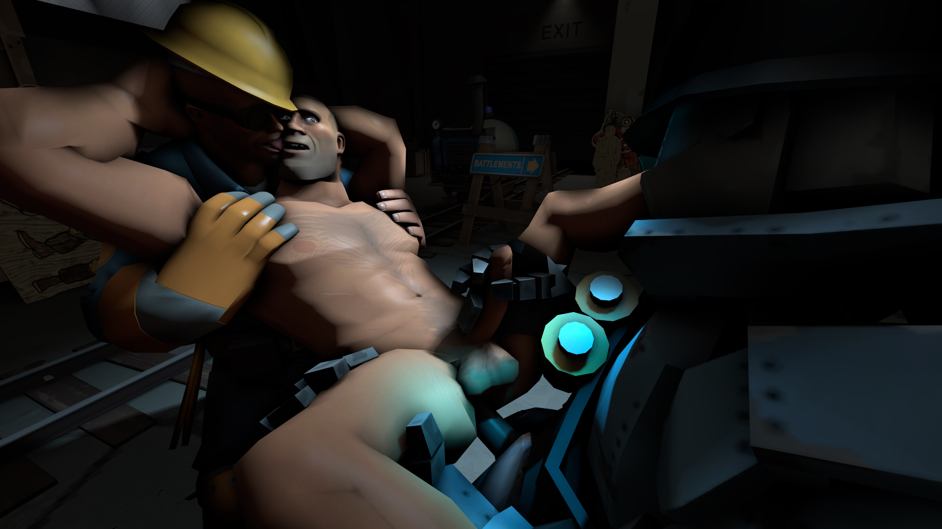 Gmod sex cartoon cock riding hentai clip