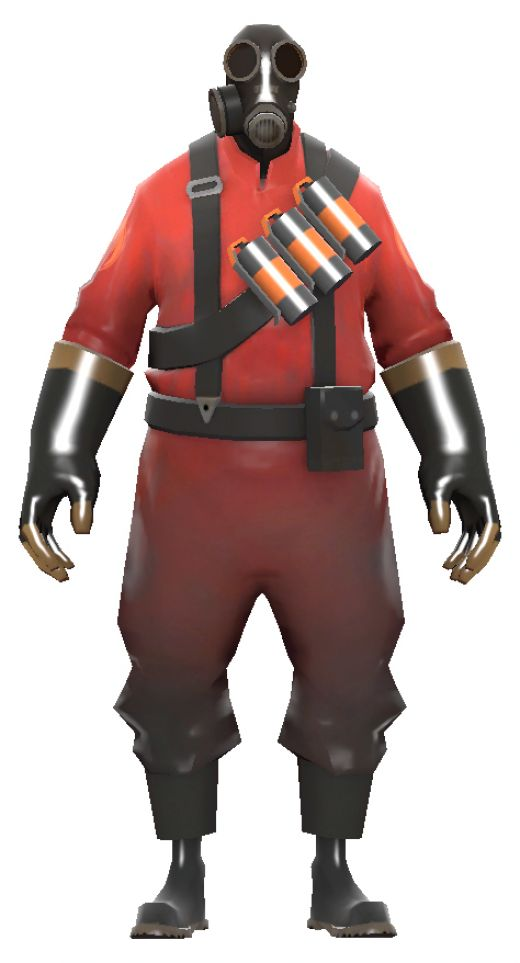 team fortress 2 PyroTf2 Pyro Girl Skin